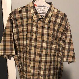 Men's Volvo's button up shirt size xxl